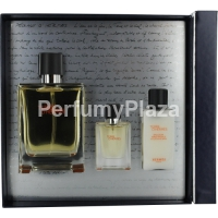 Hermes Terre D'Hermes woda toaletowa spray 100 ml + balsam po goleniu 40 ml + woda toaletowa spray 12,5 ml