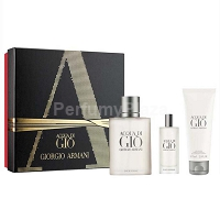 Giorgio Armani Acqua di Gio Pour Homme woda toaletowa spray 100 ml + edt 15 ml + shower gel 75 ml