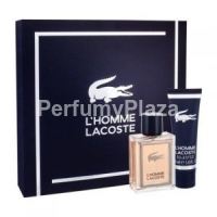 Lacoste L'Homme woda toaletowa spray 100 ml + shower gel 150 ml