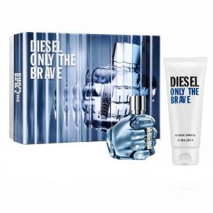 Diesel Only The Brave woda toaletowa spray 50 ml + żel pod prysznic 100 ml